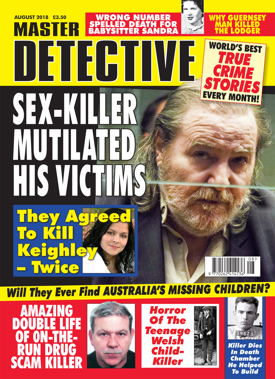 Master Detective August 2018