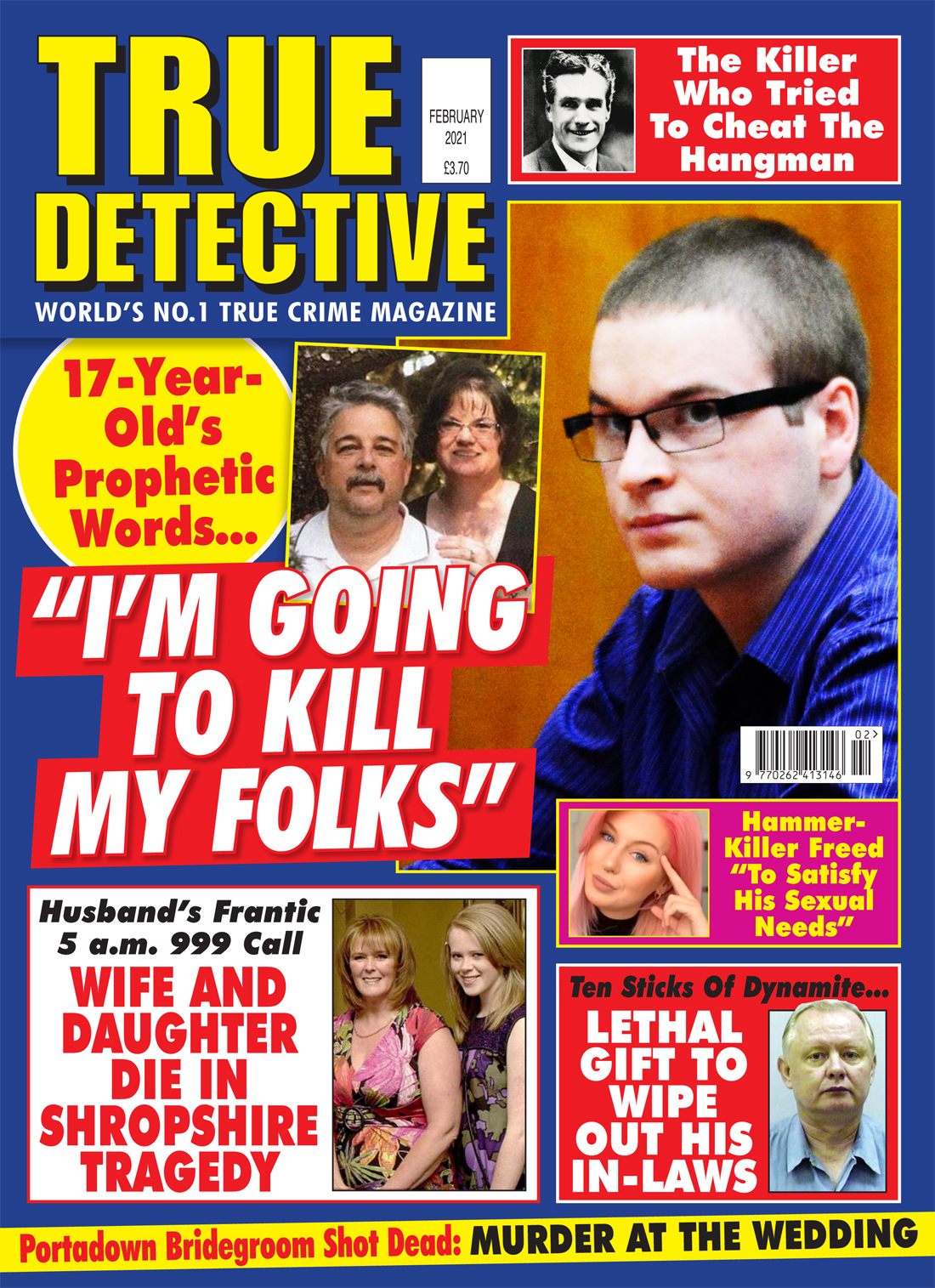 True Detective February 2021 | True Crime Library